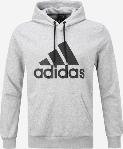ADIDAS PERFORMANCE Sportsweatshirt 'Bos Po Ft' in de kleur Grijs / Zwart, Productweergave