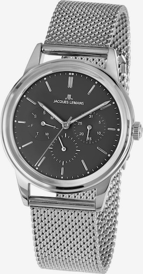 Jacques Lemans Multifunktionsuhr 'Retro Classic, 1-2061F' in schwarz / silber, Produktansicht