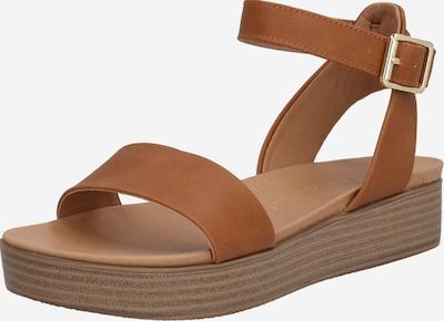 NEW LOOK Sandale 'GENIUS' u konjak, Pregled proizvoda