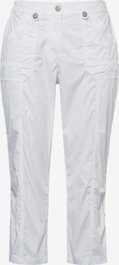 Ulla Popken Cargohose in weiß, Produktansicht