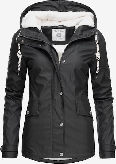 Peak Time Jacke in schwarz, Produktansicht