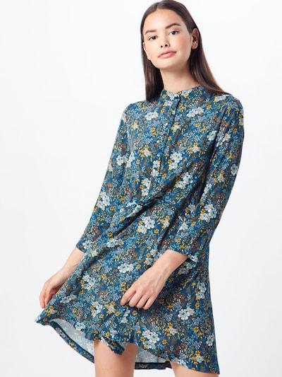 Rich & Royal Blusenkleid in blau / petrol, Modelansicht
