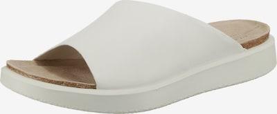 ECCO Corksphere Sandal Komfort-Pantoletten in weiß, Produktansicht