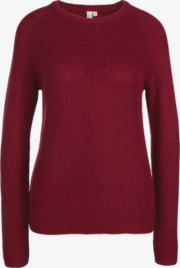 Megztinis iš Q/S designed by , spalva - vyno raudona spalva, Prekių apžvalga