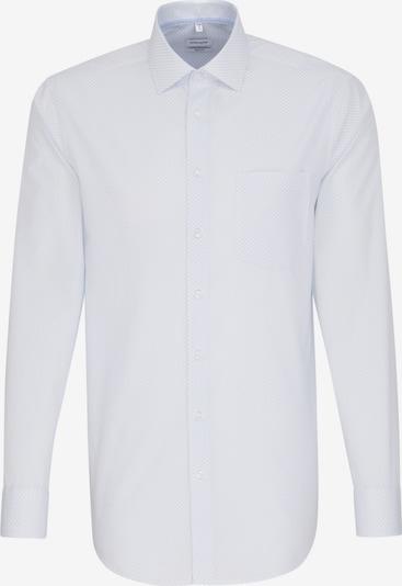 SEIDENSTICKER Zakelijk overhemd 'Modern' in de kleur Opaal / Wit: Vooraanzicht
