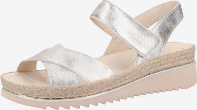 GABOR Sandalen met riem in de kleur Zilver, Productweergave