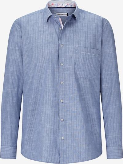 Shirtmaster Overhemd 'Blueandcoral' in de kleur Blauw, Productweergave