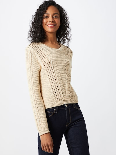 ABOUT YOU Pullover 'Nala' in creme, Modelansicht