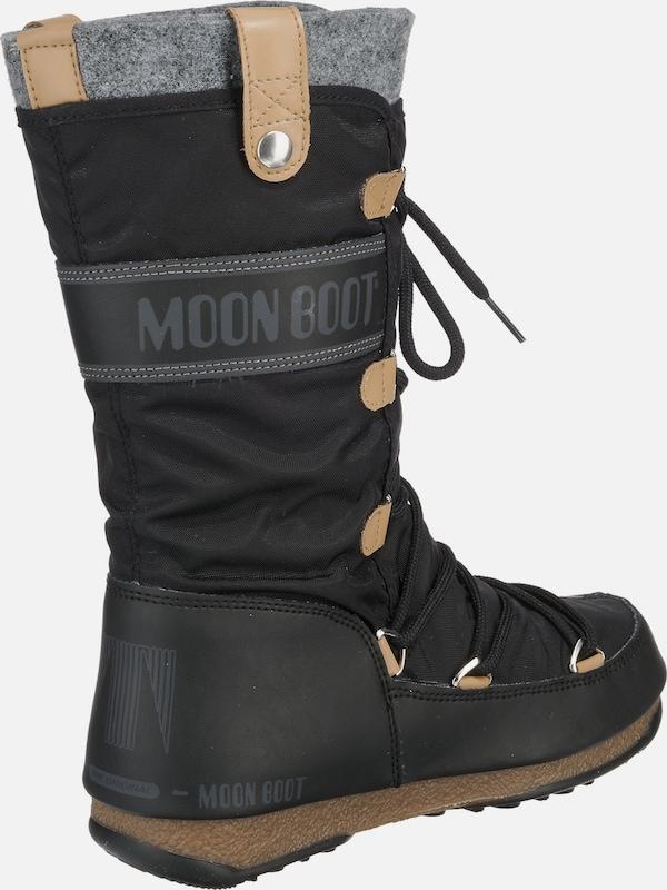 MOON BOOT Stiefel 'Monaco felt'