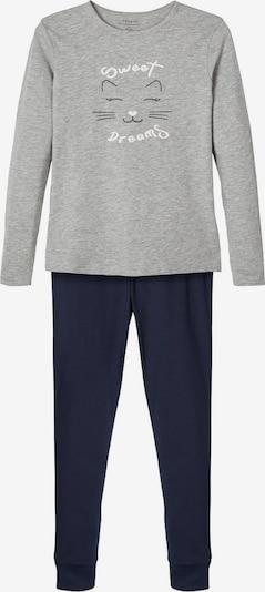 NAME IT Pyžamo - námornícka modrá / sivá melírovaná / biela, Produkt