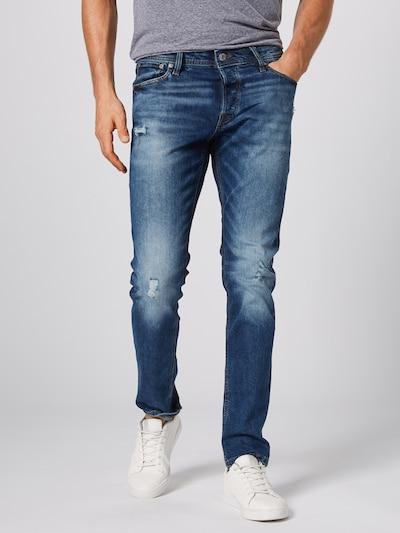 Jeans 'AM 918' JACK & JONES pe denim albastru: Privire frontală