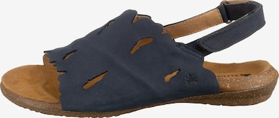EL NATURALISTA Komfort-Sandalen in blau, Produktansicht