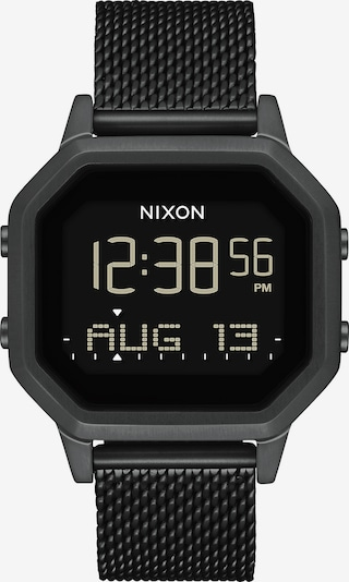 Nixon Digitalur i sort, Produktvisning