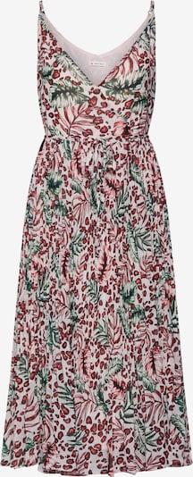 khujo Kleid 'ROSE' in grün / rosa / rot, Produktansicht
