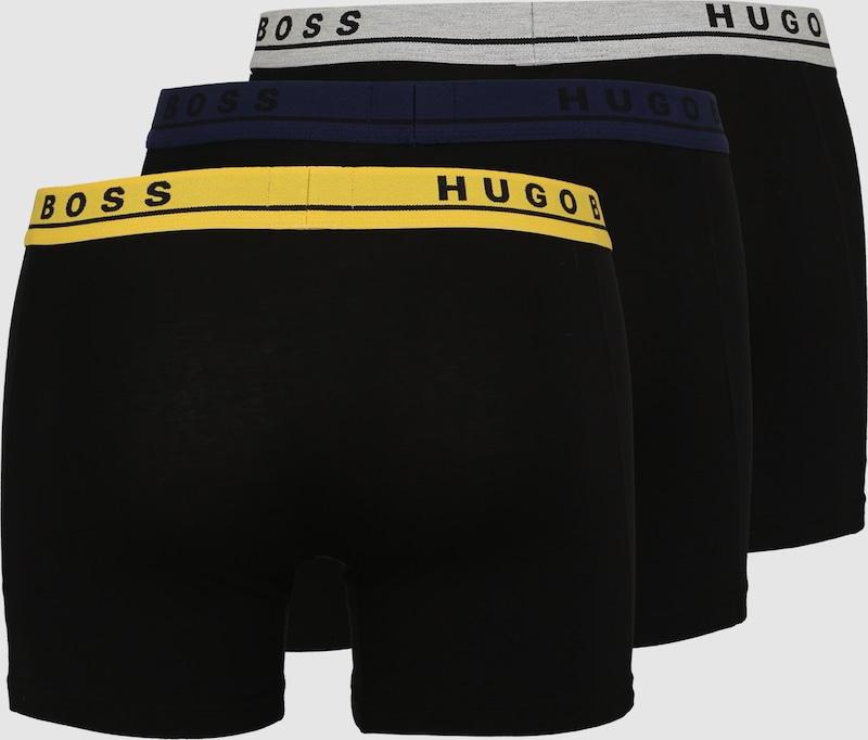 BOSS 3er Pack Boxershorts mit Cotton Stretch