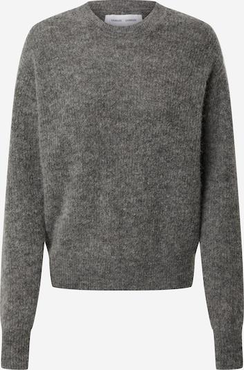Samsoe Samsoe Sweat-shirt en gris chiné, Vue avec produit