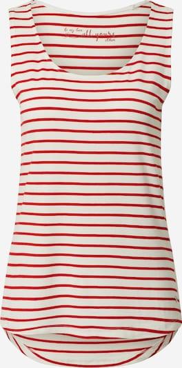 s.Oliver Top in de kleur Rood / Wit, Productweergave