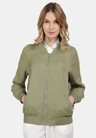 DREIMASTER Jacke in khaki: Frontalansicht