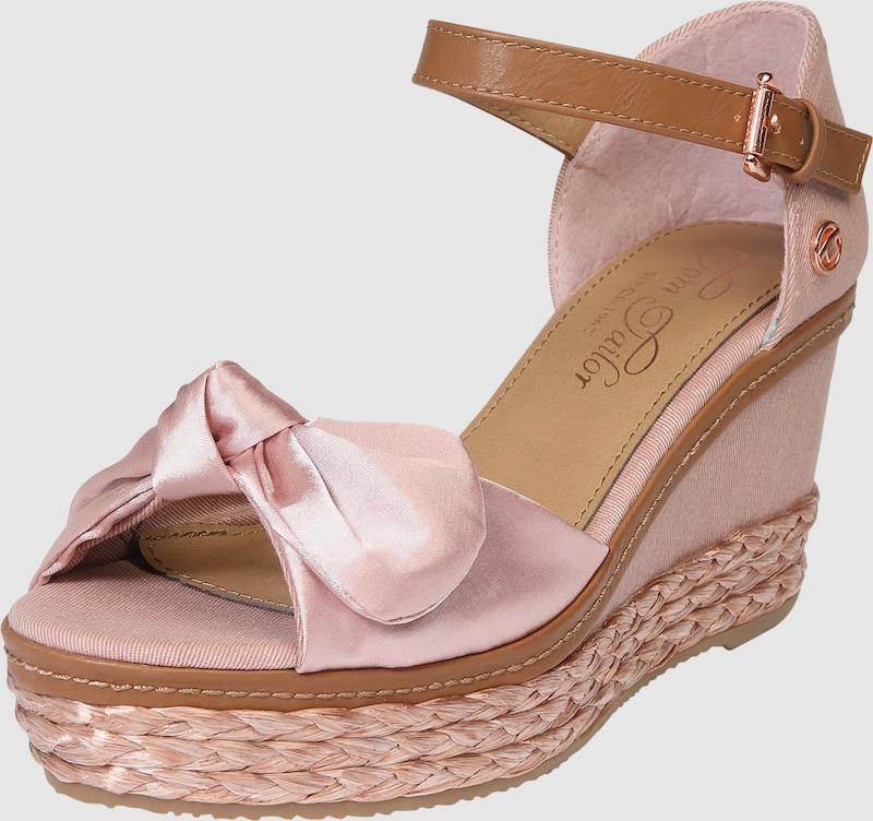 tom tailor sandalen met riem in roze about you. Black Bedroom Furniture Sets. Home Design Ideas