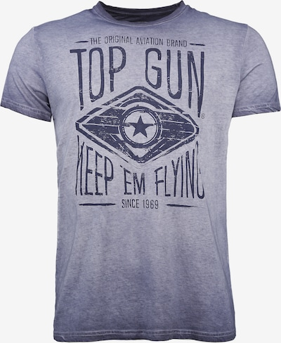 TOP GUN T-Shirt 'Growl' in marine, Produktansicht