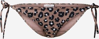 Calvin Klein Swimwear Bikinibroek in de kleur Lichtbruin / Zwart, Productweergave
