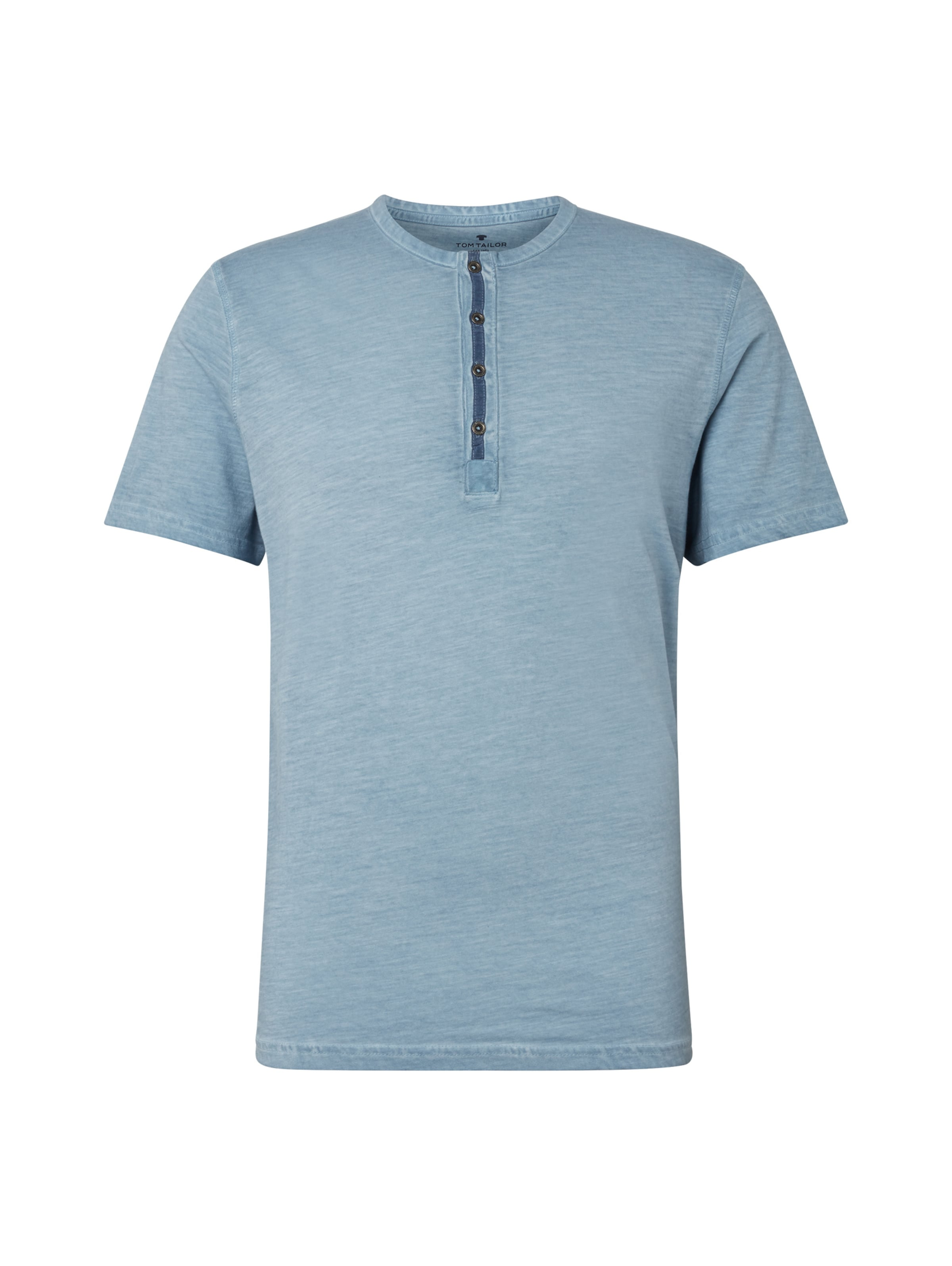 In Tom T shirt Rauchblau Tailor ZTuXwkiPO