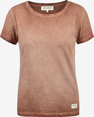 Desires T-Shirt 'Karin' in bronze: Frontalansicht
