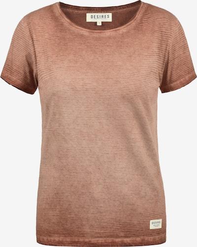 Desires T-Shirt 'Karin' in bronze, Produktansicht