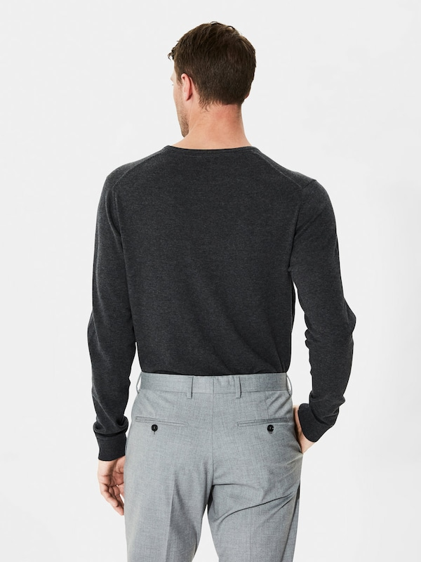 Selected Homme Are Mixed Fiber-knitted Sweaters