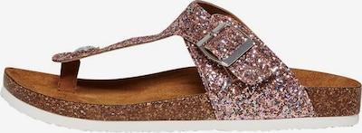 ONLY Sandalias de dedo 'Mathilda' en rosé, Vista del producto