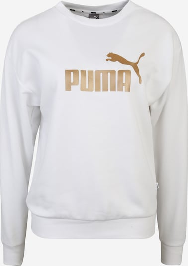 PUMA Sportovní mikina 'ESS+ Metallic ' - zlatá / bílá, Produkt