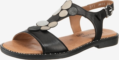 REMONTE D3655 Klassische Sandalen in schwarz, Produktansicht
