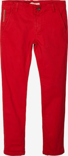 NAME IT Regular Fit Baumwoll Chino in rot, Produktansicht