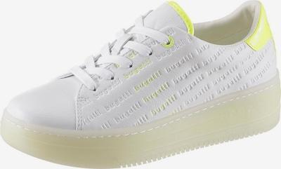 bugatti Plateausneaker in neongelb / weiß, Produktansicht