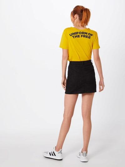 Boohoo Spódnica 'Aalia' w kolorze czarnym: Widok od tyłu
