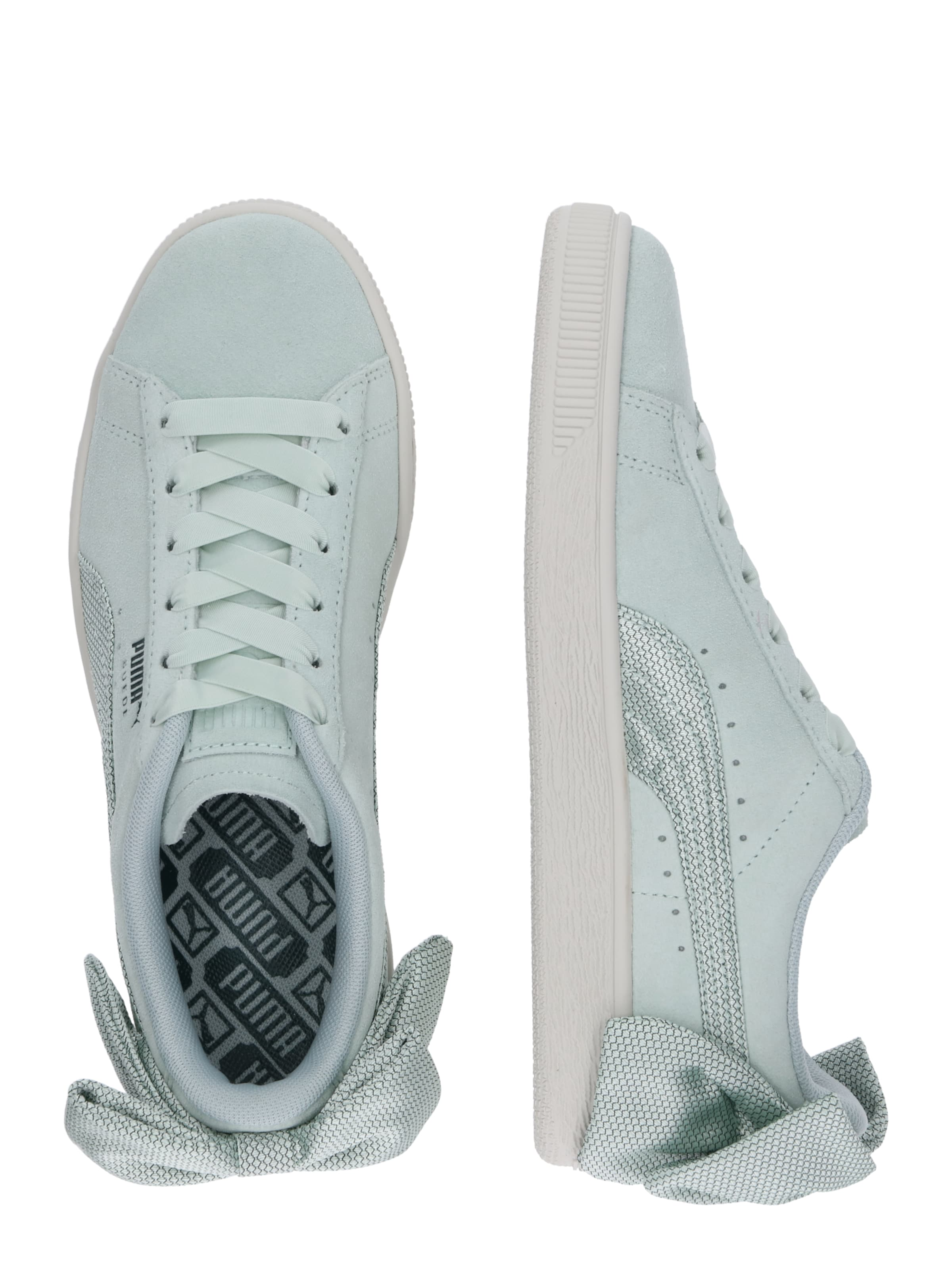 In 'suede Puma Sneaker Pastellgrün Bow' iTPXOkZu