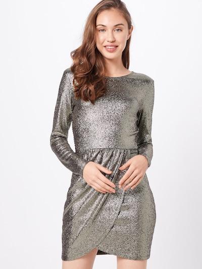 ONLY Koktejl obleka 'ALESSA' | zlata / črna barva: Frontalni pogled