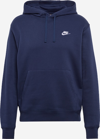 Nike Sportswear Sweatshirt 'Club' in dunkelblau, Produktansicht
