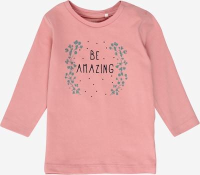 Tricou 'KARINA' NAME IT pe smarald / roz / negru, Vizualizare produs