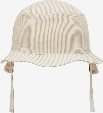 NAME IT Hut 'Bucket' in beige / braun, Produktansicht