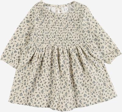 NAME IT Sukienka w kolorze gołąbkowo niebieski / naturalna bielm, Podgląd produktu