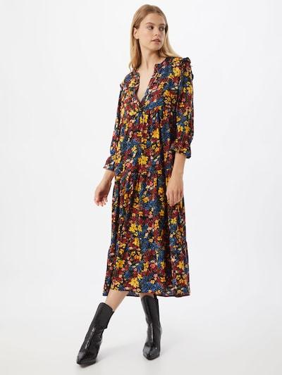 ONLY Kleid 'Nalina' in rot / schwarz, Modelansicht