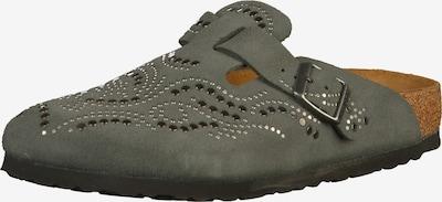 BIRKENSTOCK Clogs 'Boston' in bronze / khaki / silber, Produktansicht