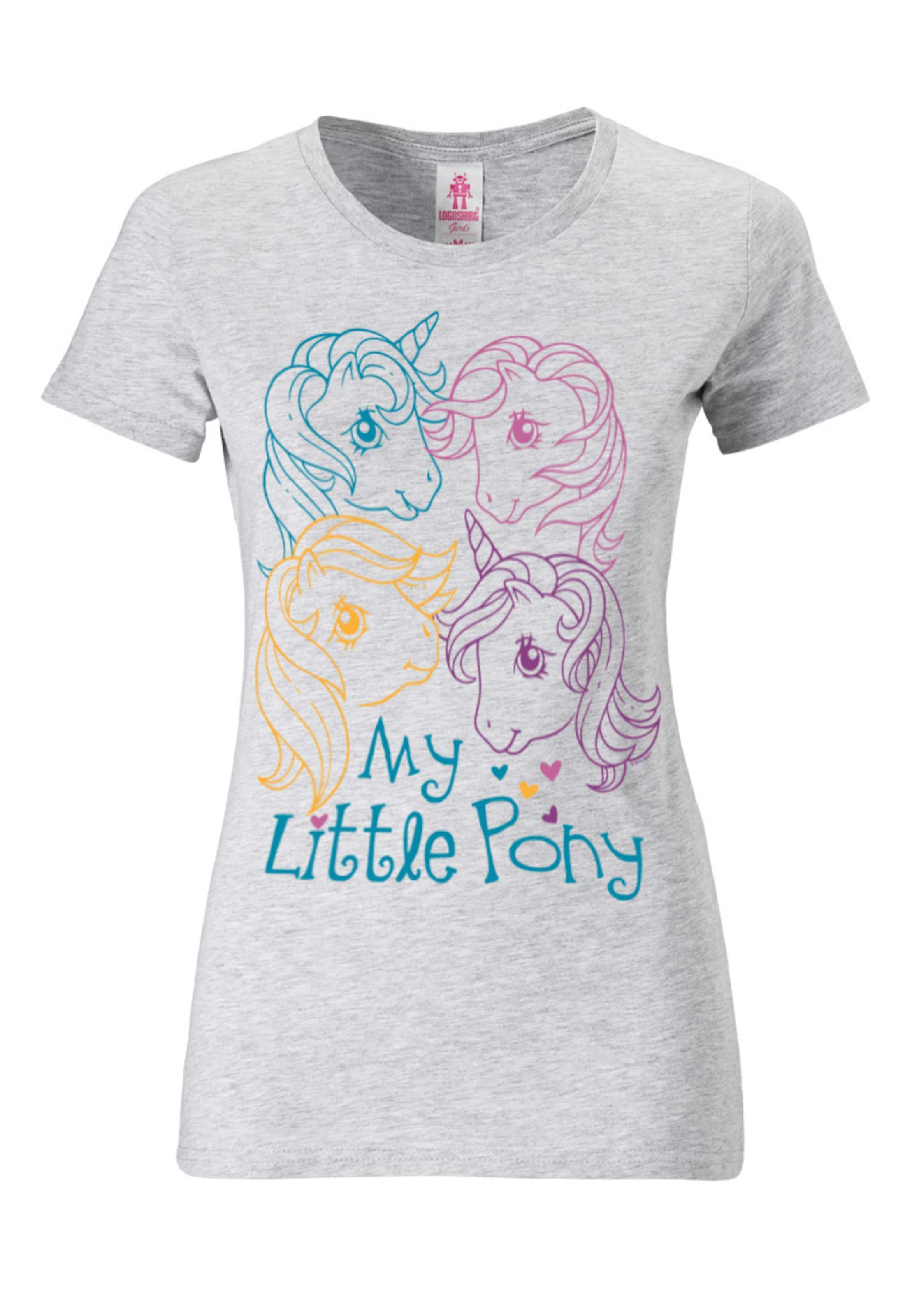 Pony' Logoshirt Little T shirt 'my Hellgrau In PXOZiulwTk