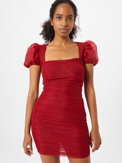 Missguided Kleid in rot, Modelansicht
