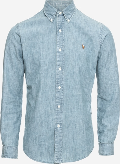 POLO RALPH LAUREN Hemd 'SL BD PPC SP-LONG SLEEVE-SPORT SHIRT' in blue denim, Produktansicht