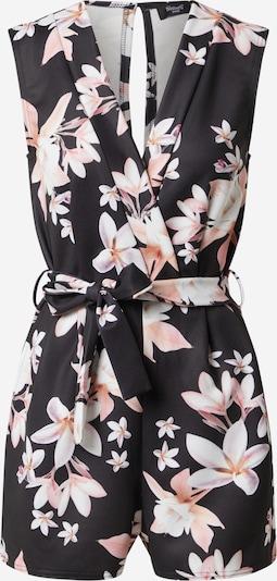SISTERS POINT Jumpsuit 'GRAM-PLAY' in beige / rosa / schwarz, Produktansicht
