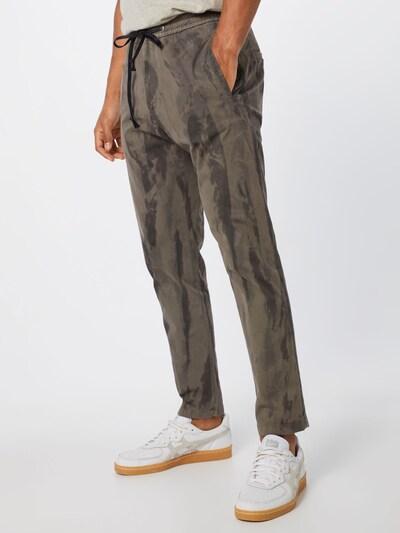 DRYKORN Pantalon 'JEGER' en gris / kaki: Vue de face