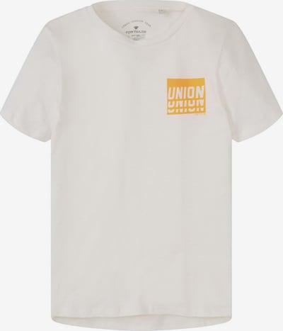 TOM TAILOR T-Shirt in weiß: Frontalansicht