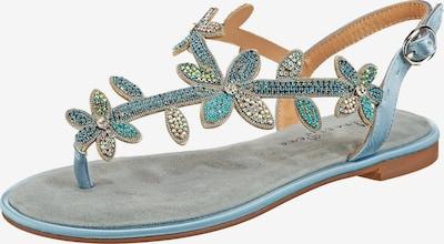 Alma En Pena Sandalen in blau, Produktansicht